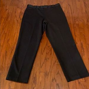 Dockers Black Never Iron Pants size W38 L34
